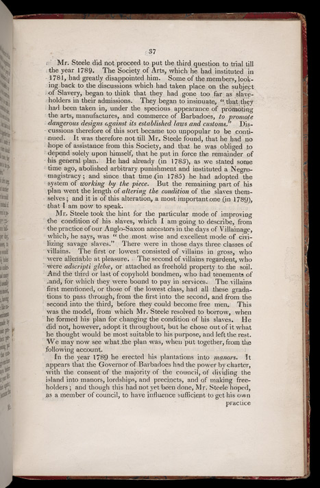Improving The Condition Of The Slaves In The British Colonies -Page 37